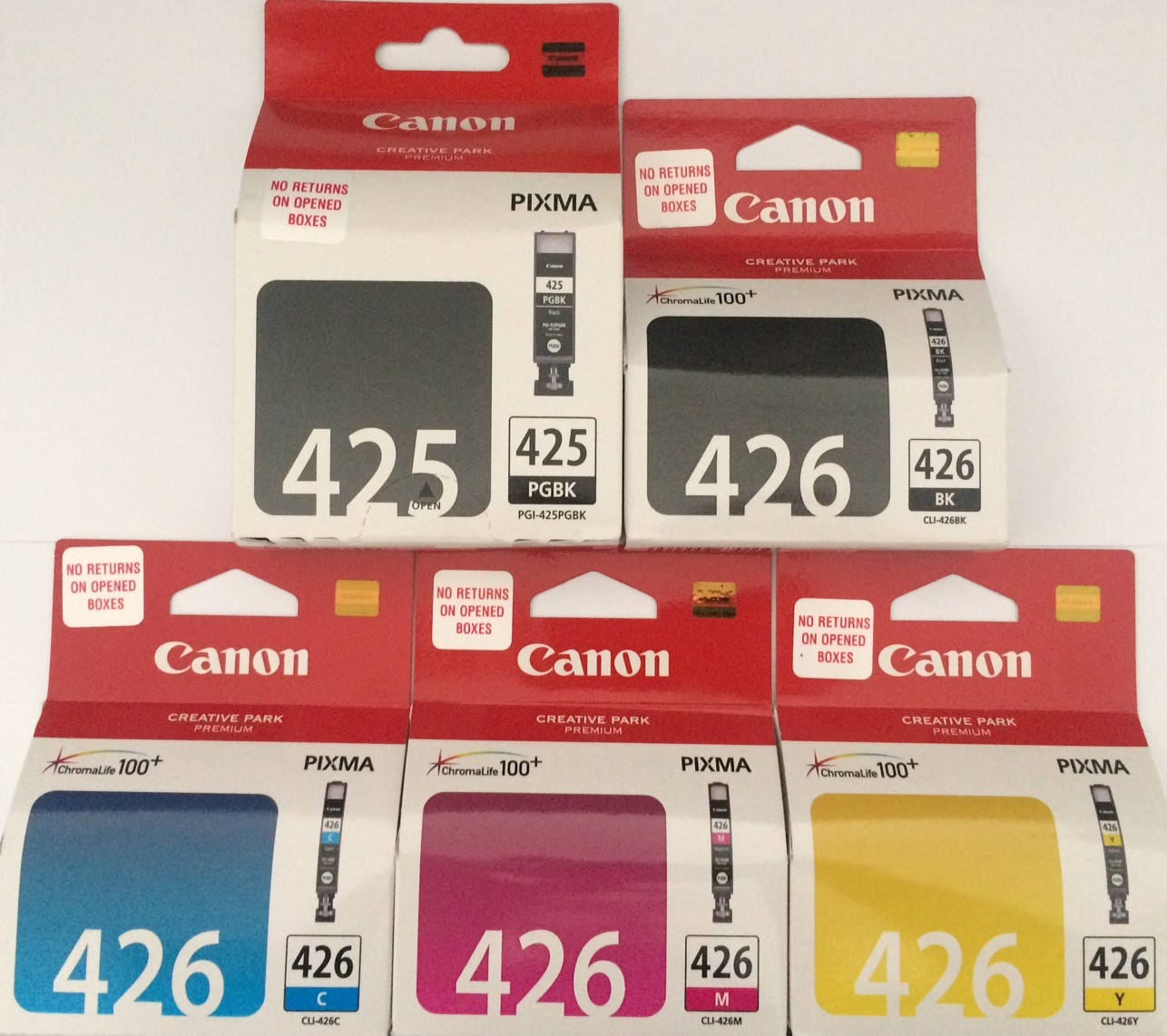 Canon PGI 425 CLI 426 Original Ink