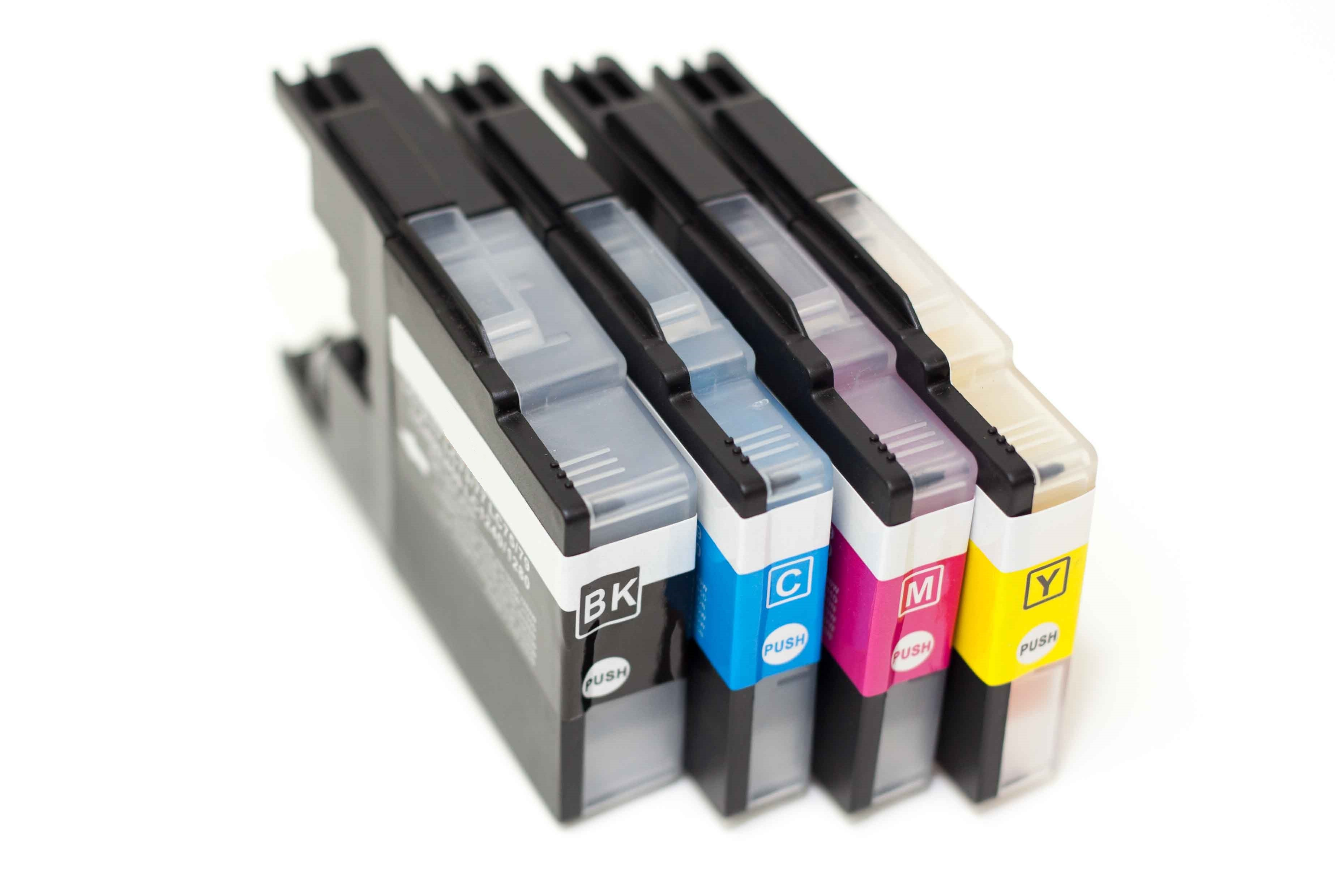Brother LC12 73 75 77 400 450 1220 1240 1280 Compatible Ink
