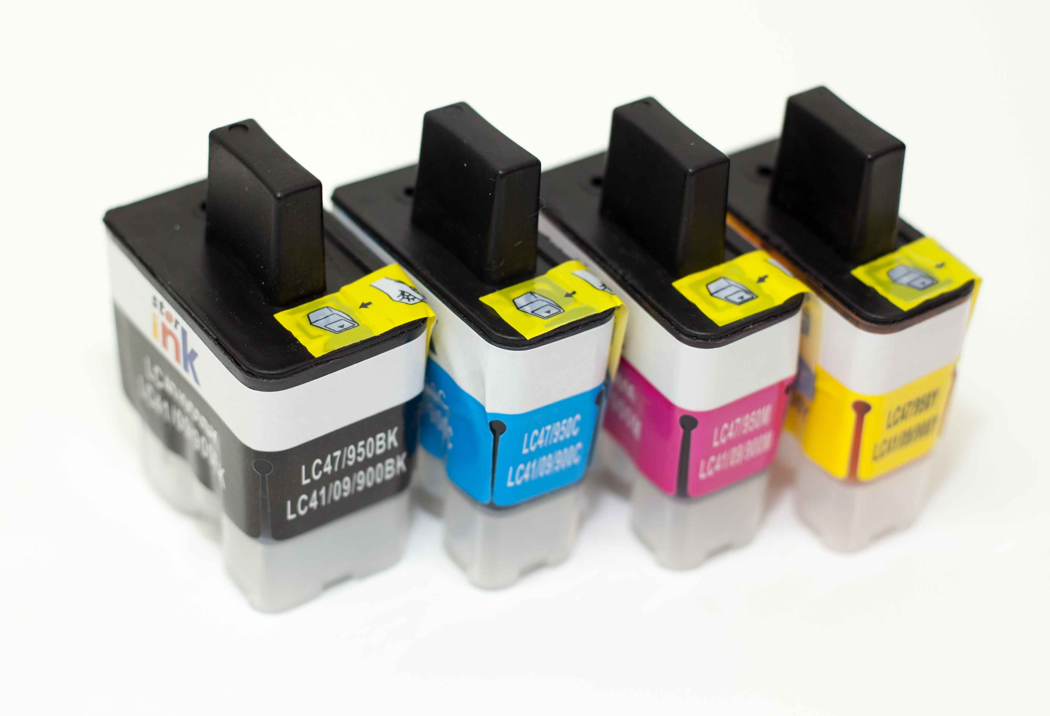 Brother LC41 47 09 900 950 Compatible Ink