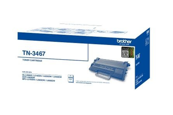 Brother TN-3467 Black Original Toner