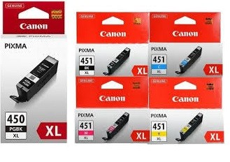 Canon PGI 450XL CLI 451XL Original Ink