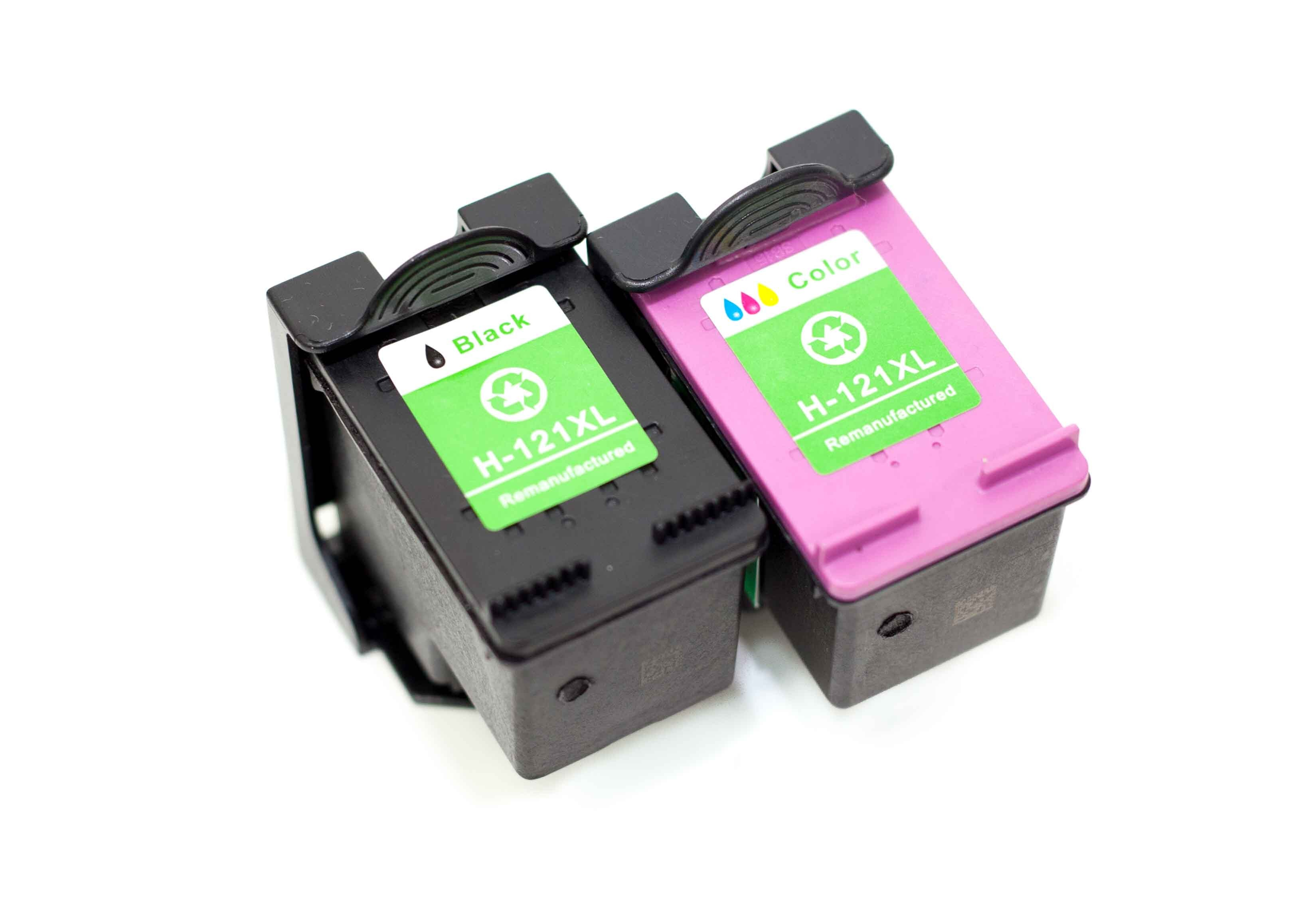 HP 121XL Remanufactured Ink