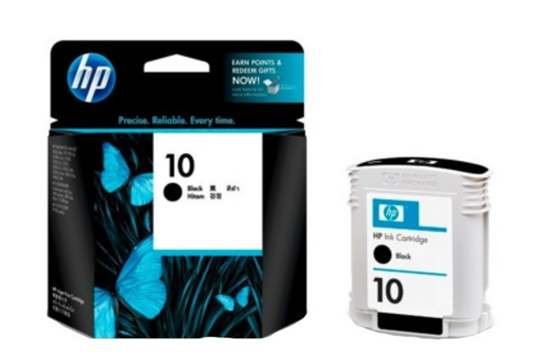 HP 10 Black Original Ink