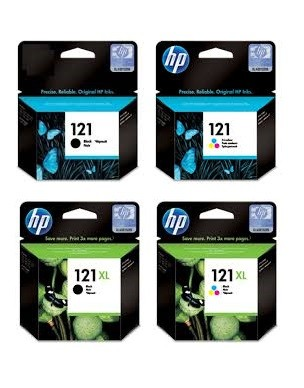 HP 121 Original Ink