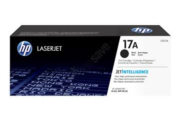 HP 17A CF217A Black Original Toner