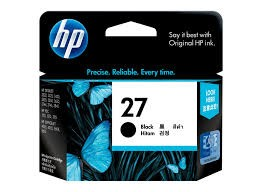 HP 27 Black Original Ink