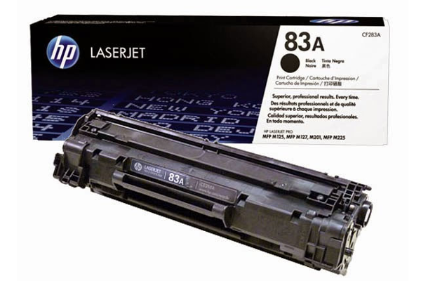 HP 83A CF283A Black Original Toner