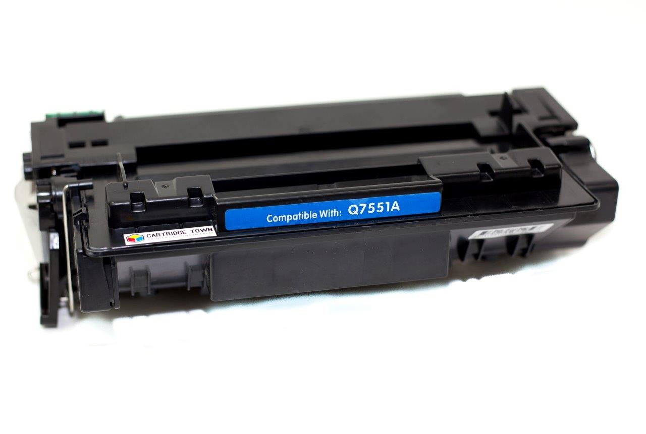 HP Q7551A Black Compatible Toner