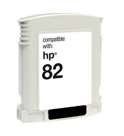 HP 82 Black Compatible Ink