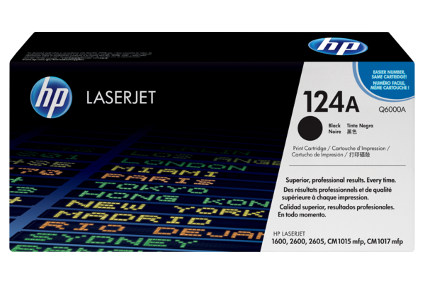 HP 124A Q6000A Black Original Toner
