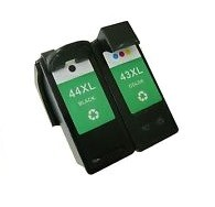 Lexmark 43XL 44XL Remanufactured Ink