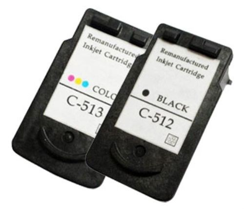 Canon PG 512 CL 513 Ink Remanufactured