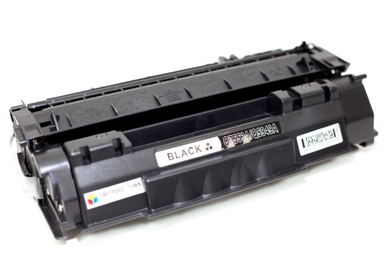 HP Q7553A Q5949A CAN 708 71H Black Universal Compatible Toner