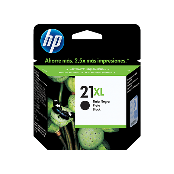 HP 21XL Black Original Ink