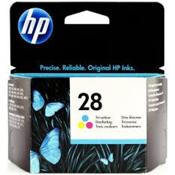 HP 28 Tri-Colour Original Ink