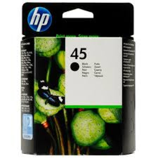 HP 45 Black Original Ink