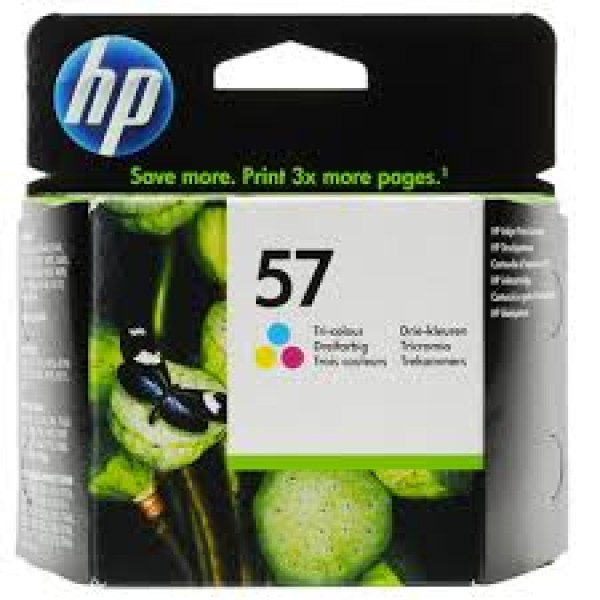 HP 57 Tri-Colour Original Ink