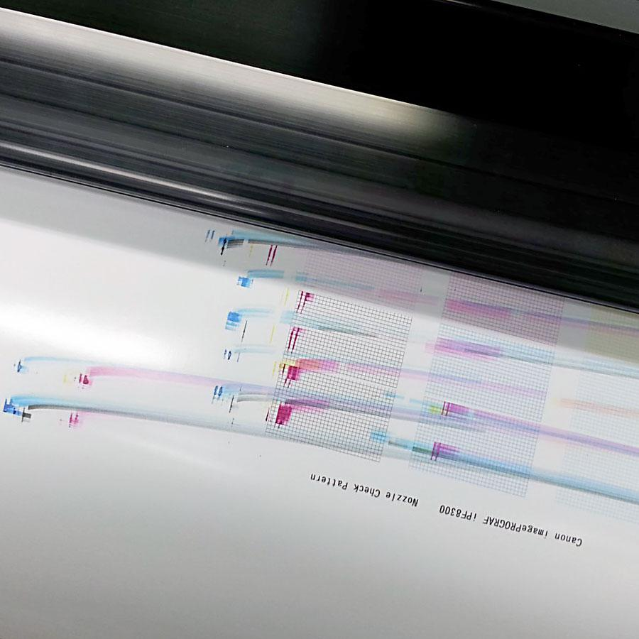Printed page smudging